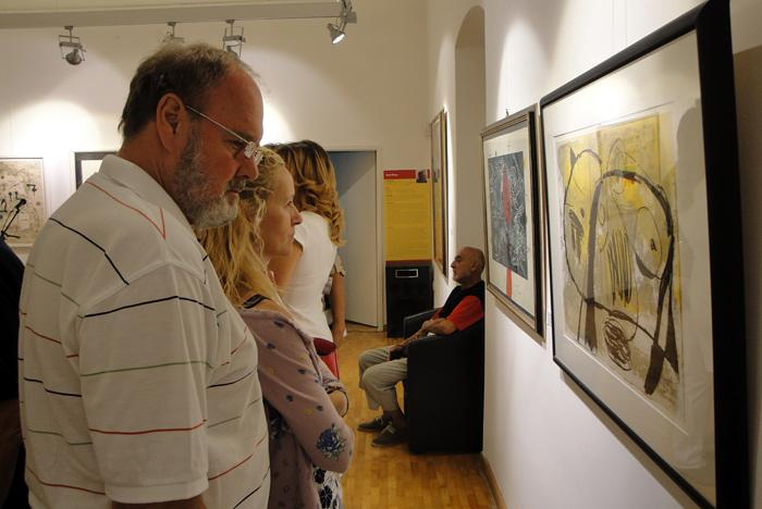 Выставка «Испанские мастера» в Будве. Фото Алексея Чурилова.