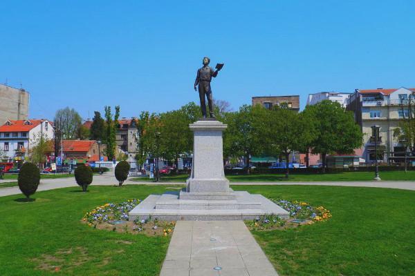 Памятник А.С. Пушкину в Белграде (Сербия)